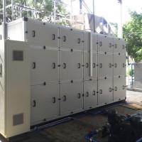 德尔科2.4T/D除湿热泵涂装污泥干化设备