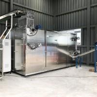 污泥干化 低温余热 每吨水50kWh 无废气排放 污泥烘干系统