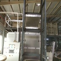 三层不锈钢履带连续运行除湿热泵漆渣污泥处理干化设备