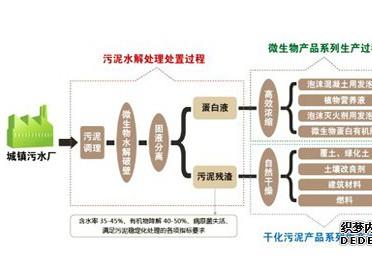 微生物蛋白提取方式的污泥处理及资源化技术